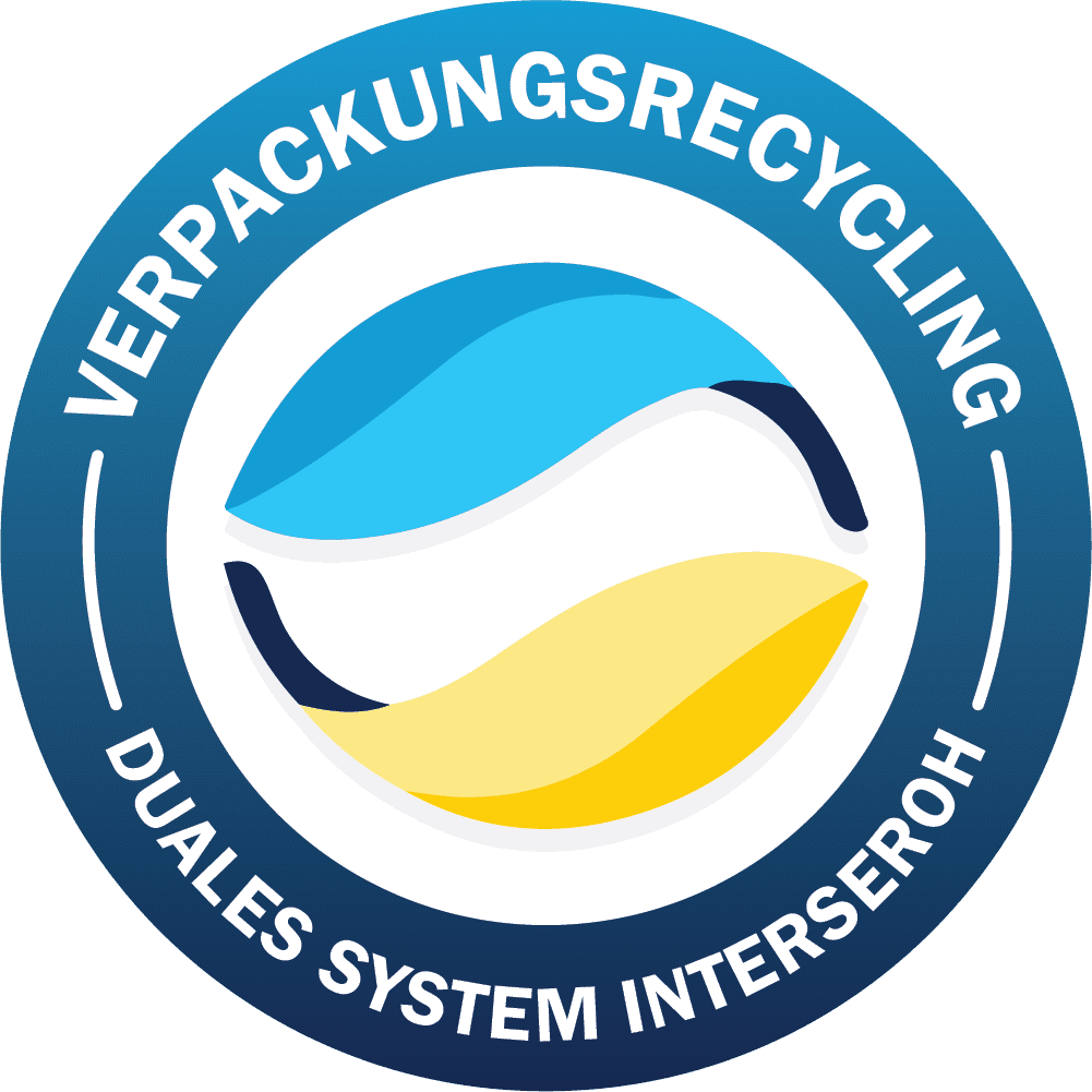 Siegel Verpackungsrecycling, Duales System Interseroh Verpackungsgesetz