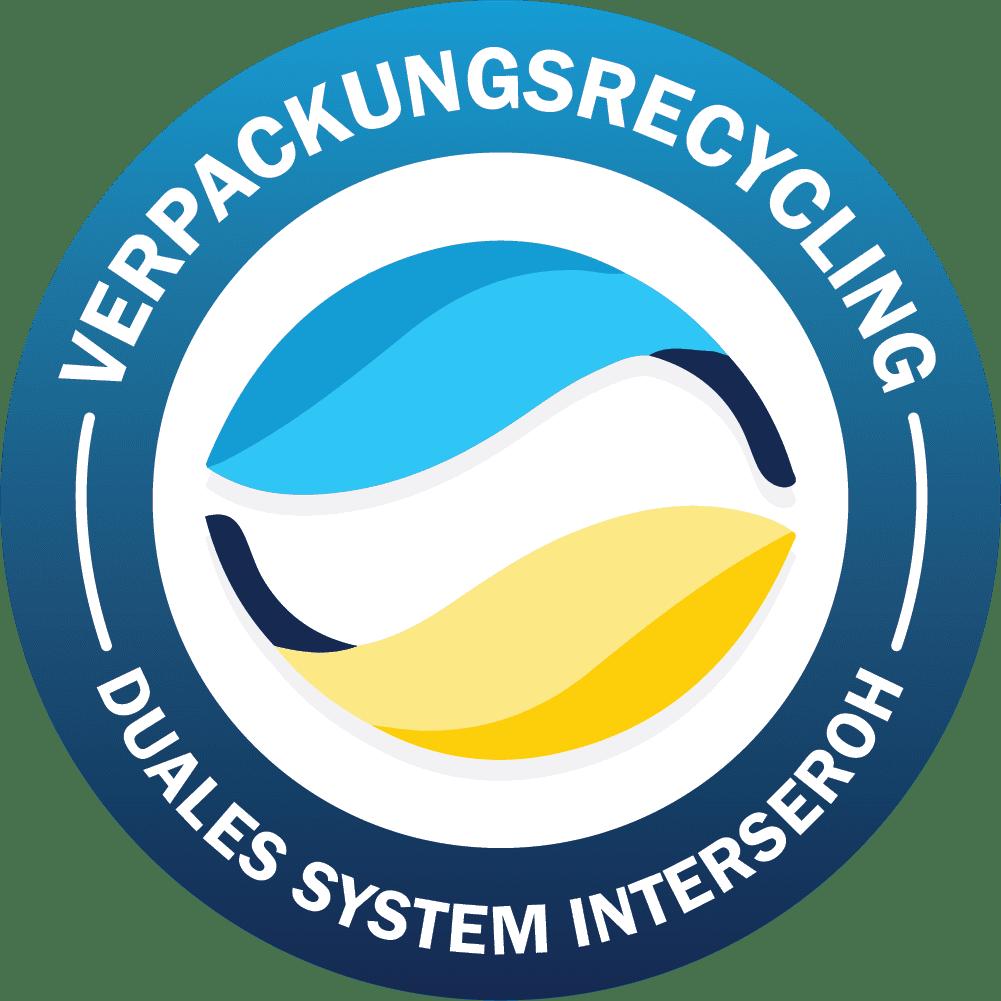 Siegel Verpackungsrecycling, Duales System Interseroh Verpackungsgesetz